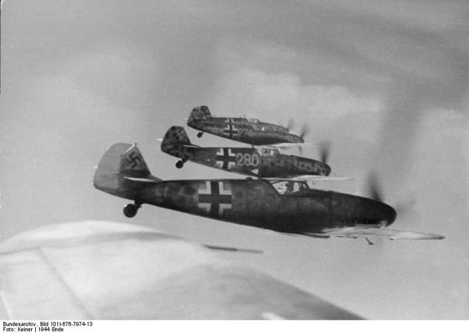 Flugzeuge Messerschmitt Me 109